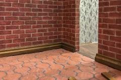 Fußbodenleisten