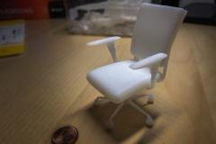 Modellstuhl als 3D Druck Objekt